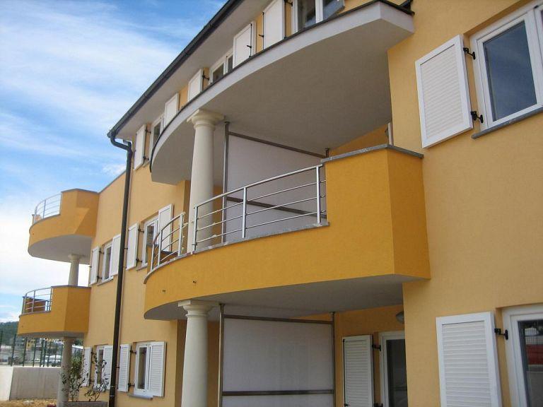 Inox ograja za apartmaje