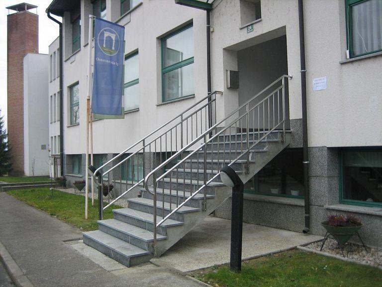 Inox ograja za stopnice