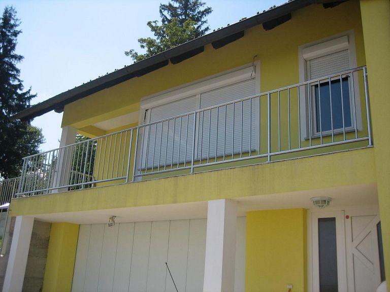 Balkonska ograja iz inoxa
