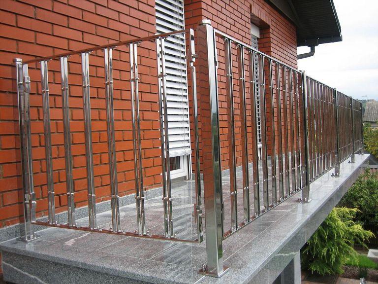 Inox balkonska ograja